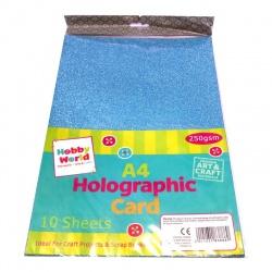 Hojas A4 Holográficas x10 250gsm