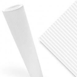Cartón Micro Corrugado Micro Blanco