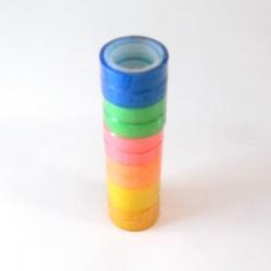 Cinta adhesiva 10 mts. color