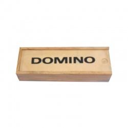 Juego de dominó en madera