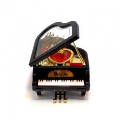 Caja musical Piano negro