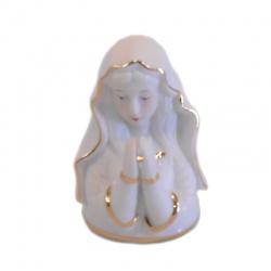 Busto virgen de porcelana