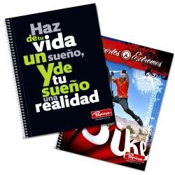 CuadernolaPapiros 100 hojas x 10 Unidades