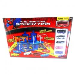 Estación con 6 vehículos Spider
