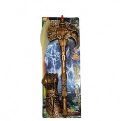 Espada con escudo musica y luz