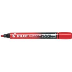 Marcador Permanente Pilot SCA100 Rojo