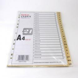 Índice Alfabético Plástico