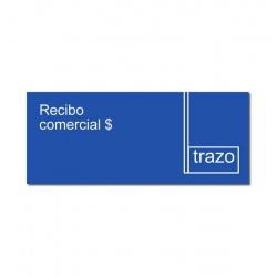 Formulario 1612 Recibos Comerciales grandes TRAZO x 10 Unidades