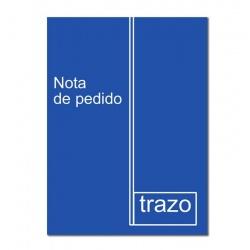 Formulario Nota Pedido  A5 TRAZO