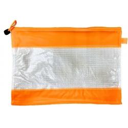 Sobre Transparente con cierre PVC B5
