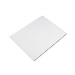Cartulina telada 190 gr. x 100 hojas Blanca