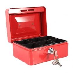 Caja de seguridad 20x15 metálica con llave