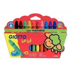 Crayolas Giotto Be-Bé x10
