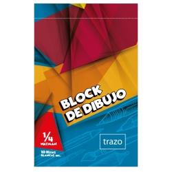 Block dibujo TRAZO 1/4 Watman Premium