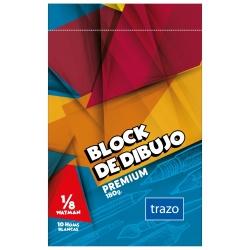 Block dibujo TRAZO 1/8 Watman 180GR