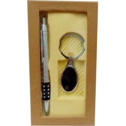 Bolígrafo con llavero de Obsequio