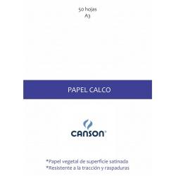 Papel Calco A3 x 50 hojas