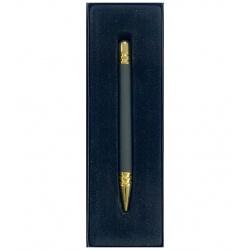 Bolígrafo de metal en caja