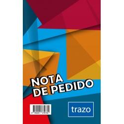 Formulario Nota de Pedido Simple TRAZO x 20 Unidades