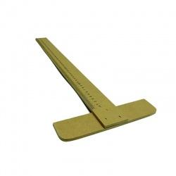 Regla T fija 0.55 madera Linea Trazo