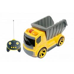 Camión con control con sirena