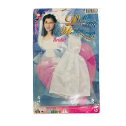 Vestido de Novia para Muñeca
