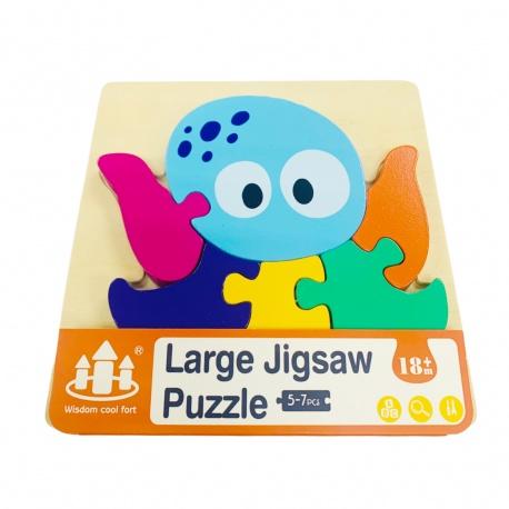 Puzzle de madera pulpo i.080
