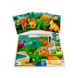 Puzzle 12 piezas 4 modelos I.073