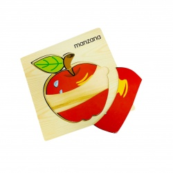 Juego de madera manzana i.079