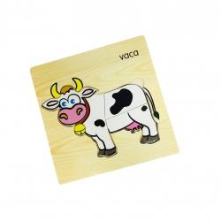 Juego de madera vaca i.079