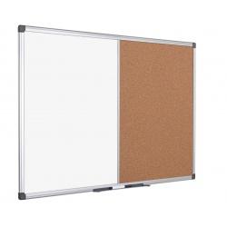 Pizarra marco Aluminio + Corcho 35 x 50cm